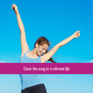 Clear the way to a vibrant life. Be balanced menopause relief