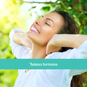 Woman. Balanced Hormones . Be balanced menopause relief