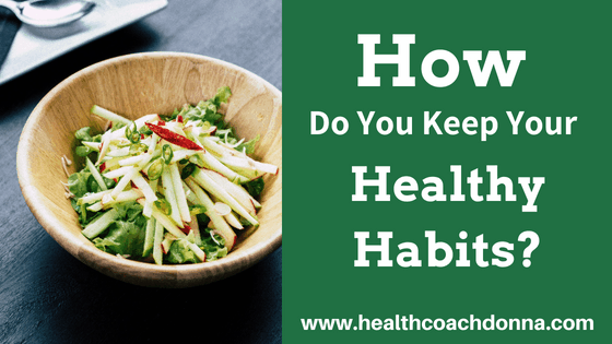 salad - How do you keep your Healthy Habits
