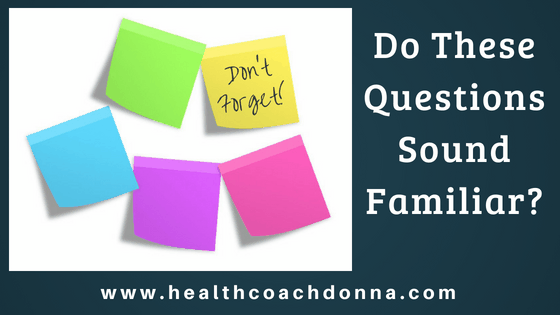 Post Its - Do these questions sound familiar?