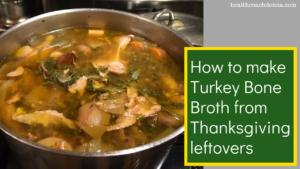 make turkey bone broth