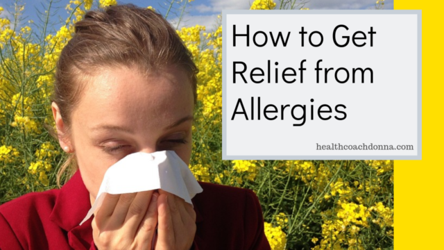 how to get relief from allergies