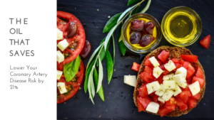 Bread with tomatoes on top with olive oil