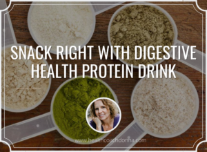 Snack Right with Digestive Health Protein Drink