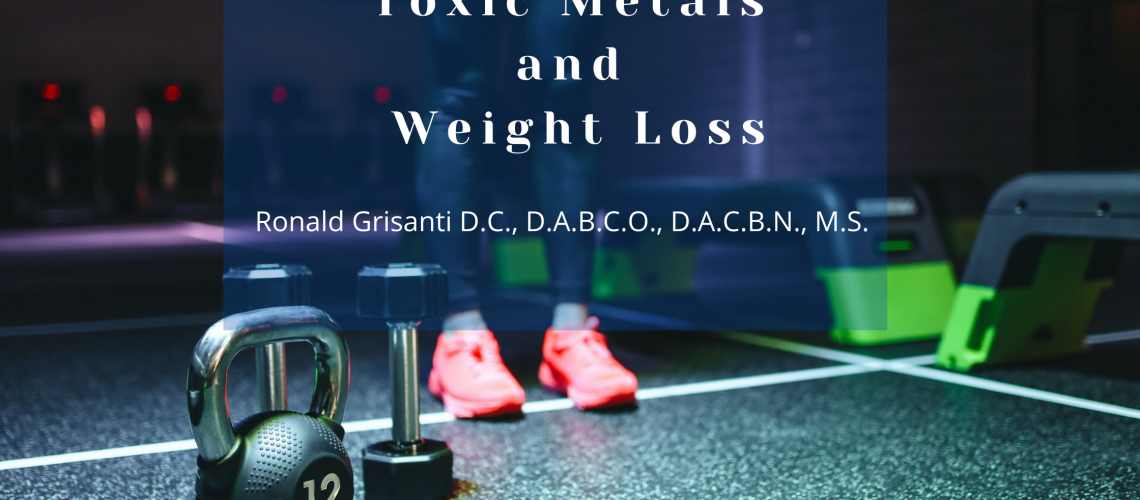 Toxic Metals and Weight Loss